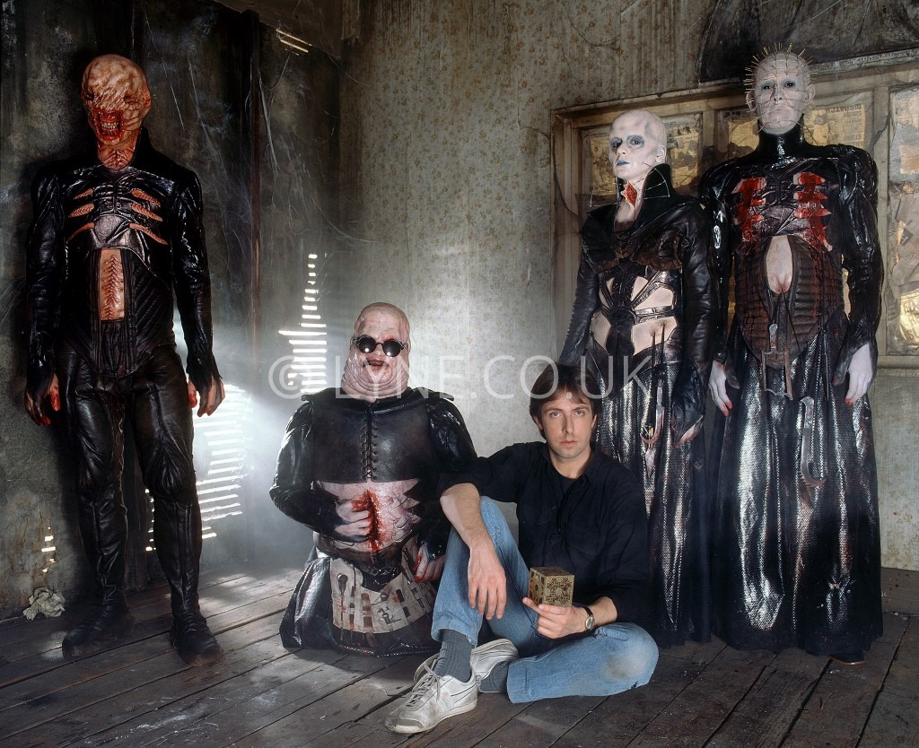 On the set of 'Hellraiser'