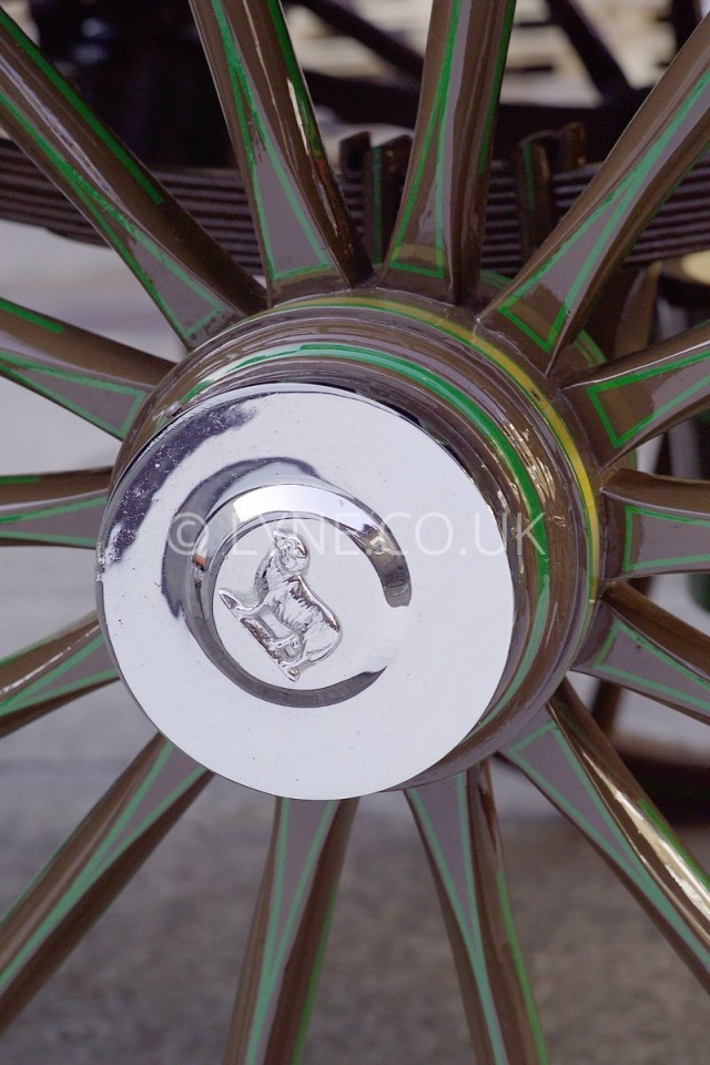 Dray Wheel Detail